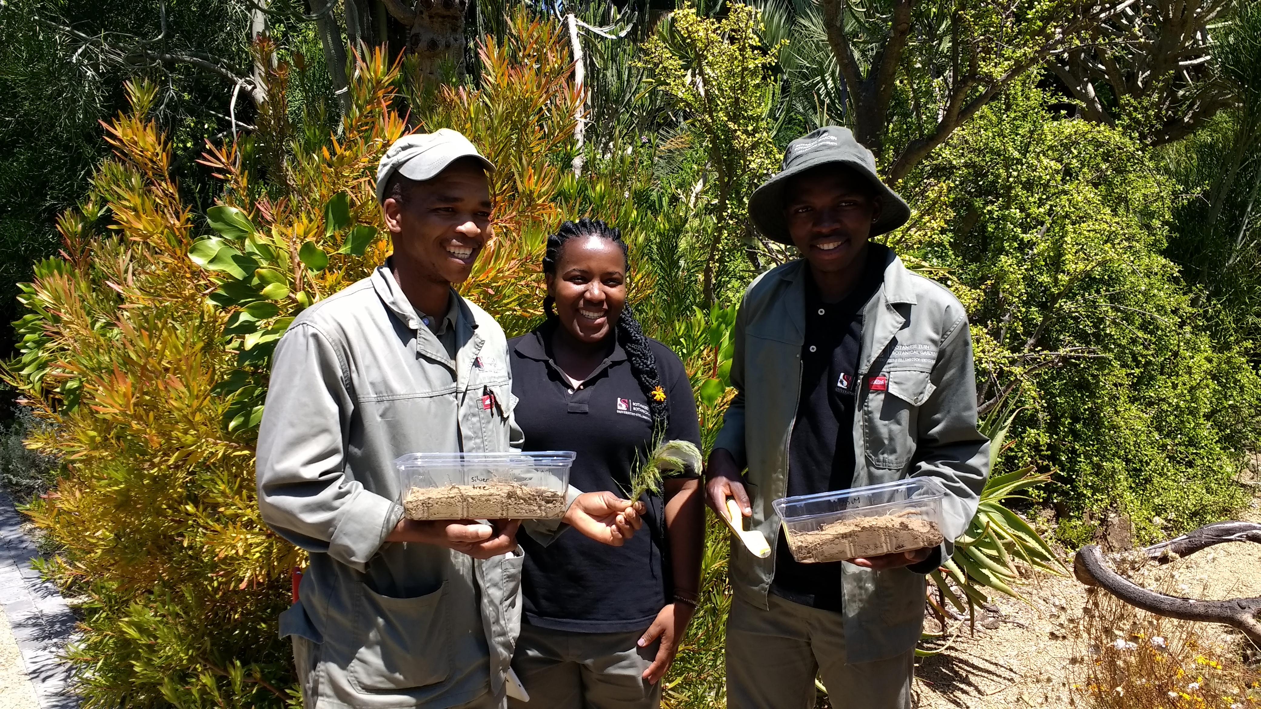 Stellenbosch University Botanical Garden staff